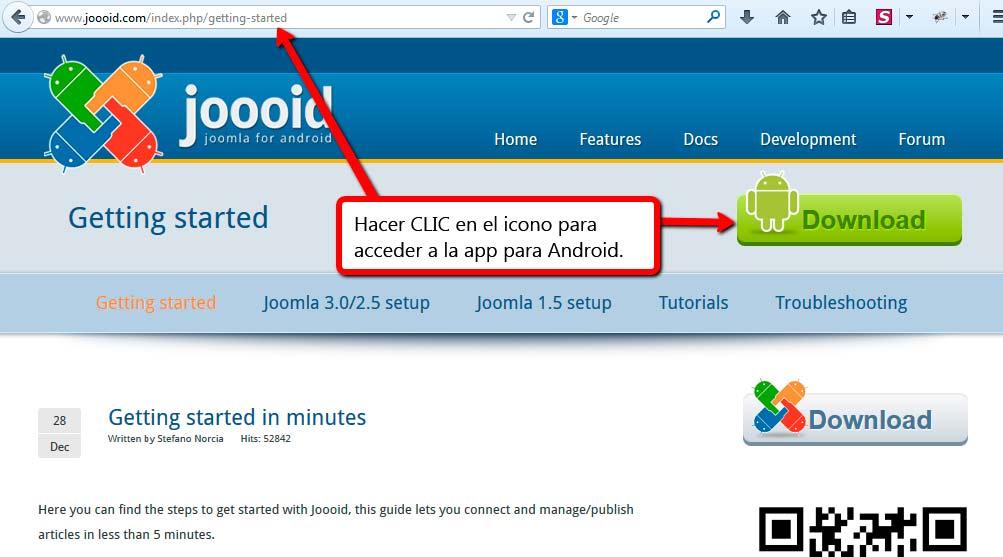 Joooid | Plugin Joomla para Android