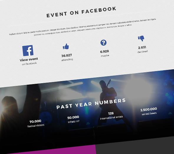 Template Joomla 3 Event